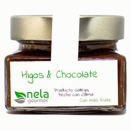 Mermelada de higos con chocolate negro