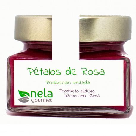 Mermelada de pétalos de rosa