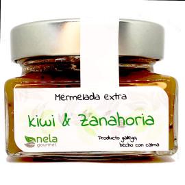 Mermelada Extra de kiwi y zanahoria