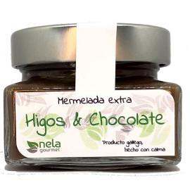 Mermelada Extra de Higos con Chocolate Negro.