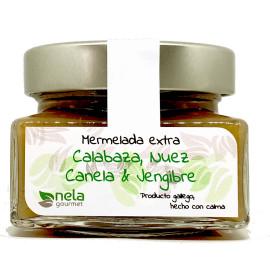 Mermelada Extra  de Calabaza, Nuez, Canela y Jengibre